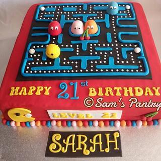 Pacman - Cake by Ashling