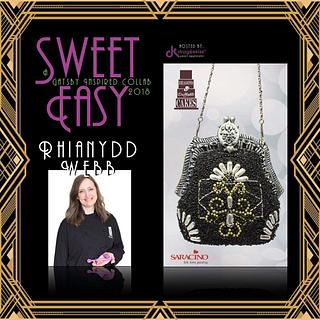 Sweet easy drageekiss Gatsby evening purse cake