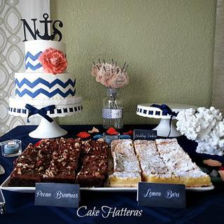 Dessert Bar for a small wedding