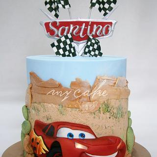 Rayo McQueen  - Cake by Natalia Casaballe