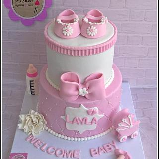 baby shower cake - Cake by NS Sweet