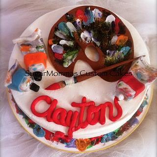 Artist Inspired Birthday Cake