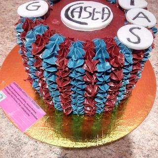 San Lorenzo team cake
