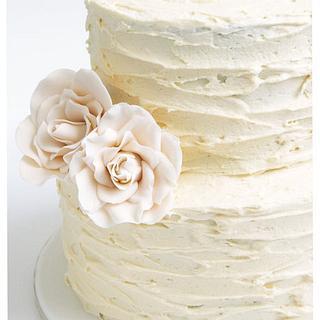 rustic wedding cake - Cake by Patricia Tsang