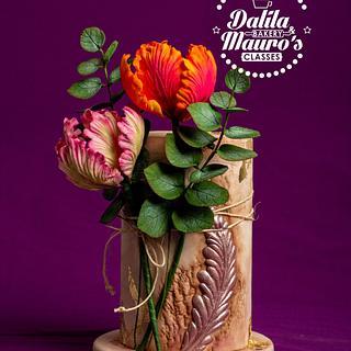Sugar paste Tulip Flower
