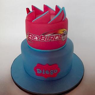 Beyblade Cake - Cake by Bake My Day