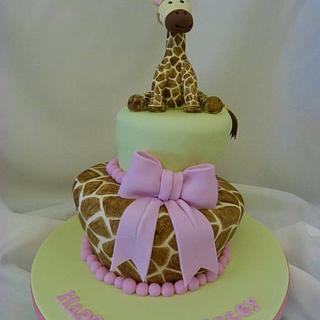 Giraffe Wonky Cake