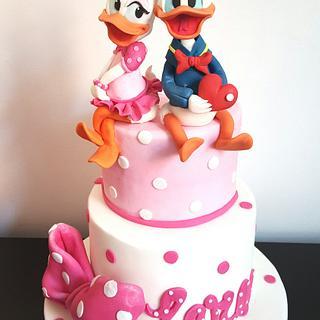 Ducks' love - Cake by EstrellaCakeDesign