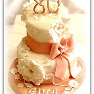Un traguardo importante !!! happy  birthday !!! - Cake by La Torteria di Polly Dì