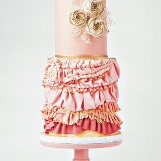 Pink Flapper Cake - Cake by Ever After