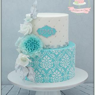 Tiffany inspired birthday