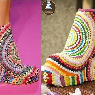 The Ankle Boot - Cake by Leela's Cake