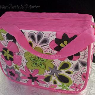 Vera Bradley inspired cake for my daughter. - Cake by Martha Chirinos Teruel