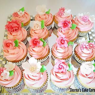 International Women's Day Celebration Customized cupcakes