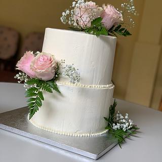 Tarta boda - Cake by Dulcepensamiento