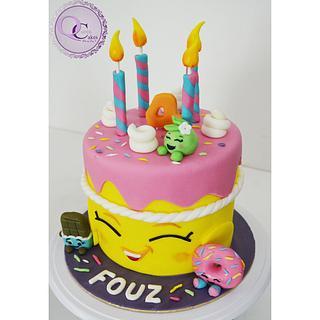 shoppkins cake