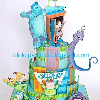 "Cake ""Monster & Co"" by Daniela Lava"