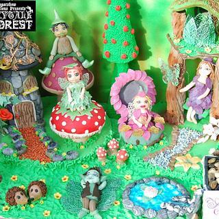 Fairy play garden.