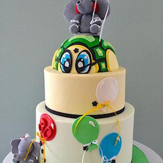The Sugar Nursery's - His Favorite Things - Cake! - Cake by The Sugar Nursery - Cake Shop & Imaginarium