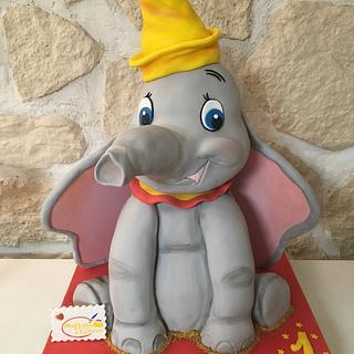 Dumbo cake   - Cake by Alexandra Smadja (Ma Boîte à Gâteau)