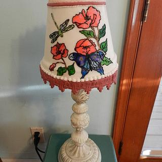 Lamp Shade cake for a Birthday Girl From Enchanted Cakes on FB - Cake by Sher