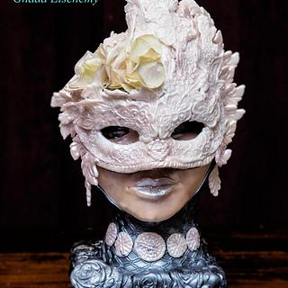 Venetian Carnival Collaboration Cake