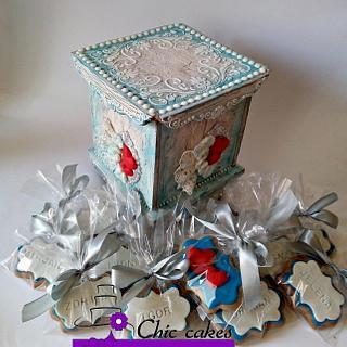 Gingerbread gift box