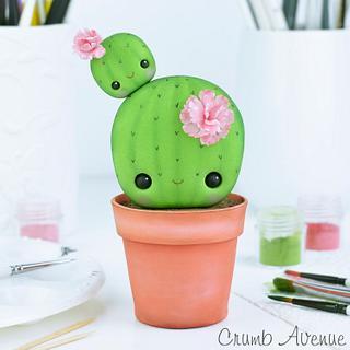 Cute Cactus Cake Topper