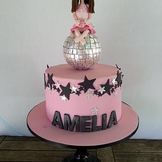 Amelia's Disco Cake