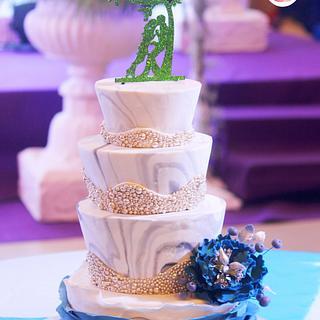 Gargi's wedding cake - Cake by Gauri Kekre