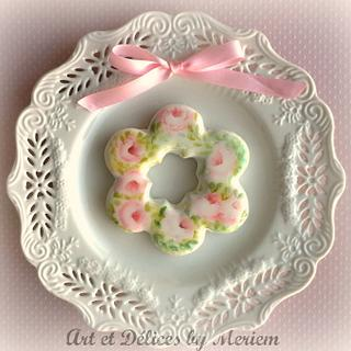 Dreamy Wreath! - Cake by artetdelicesbym