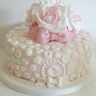 Pretty Girl's Cake
