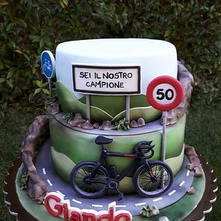Torta ciclista - Bike cake