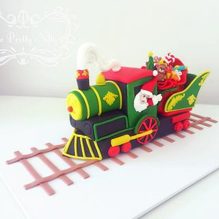Santa's Steam Train