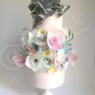 chanel inspired cake - Cake by maria antonietta motta - arcake -