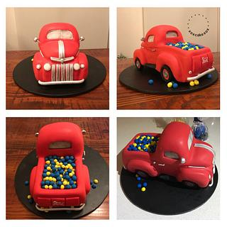 1945 Ford Pick Up Truck Cake