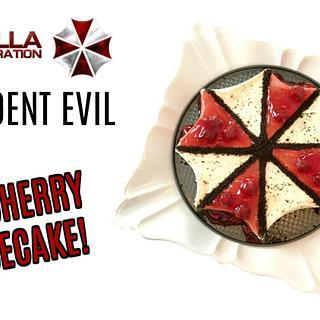 RESIDENT EVIL UMBRELLA CHERRY CHEESECAKE!