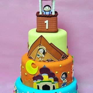 Around the World Cake