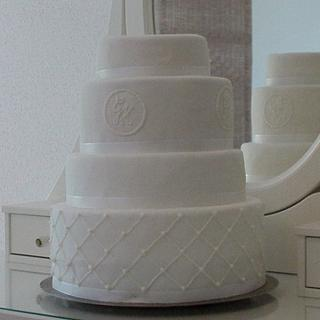 50th anniversary - Cake by Olivia's Bakery