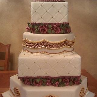 State fair wedding cake
