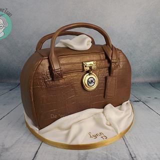 MK handbag cake 3D
