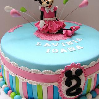 Elegant Minnie cake - Cake by COMANDATORT