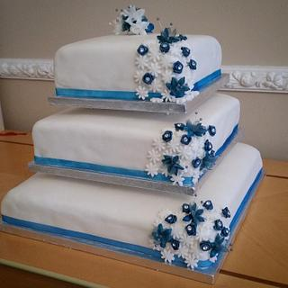 My first cake!!