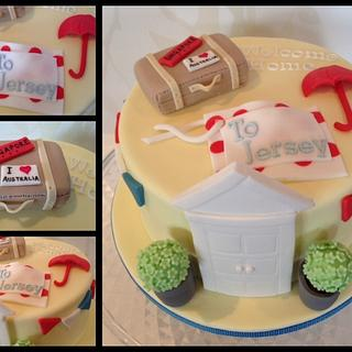 Welcome Home Cake - Cake by Sally Jane Cake Design