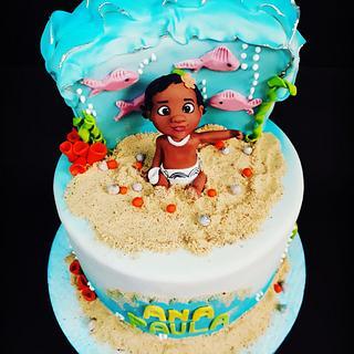Cake Moana - Cake by Nurisscupcakes