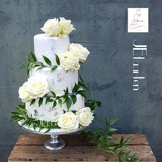 Sweet summer weddingcake