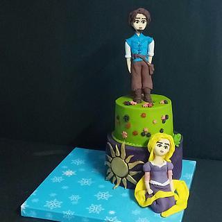 Rapunzel cake - Cake by Nodycakes