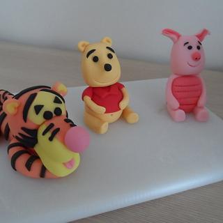 Pooh Bear, Tigger and Piglet