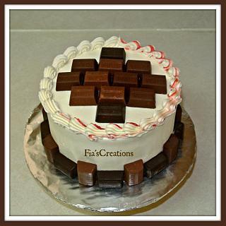 Dark Chocolate Hershey's Nugget's Cake