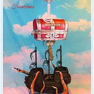 tower cake Pirates of the caribbean